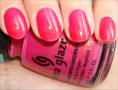Strawberry Nails Tutorial & Pictures