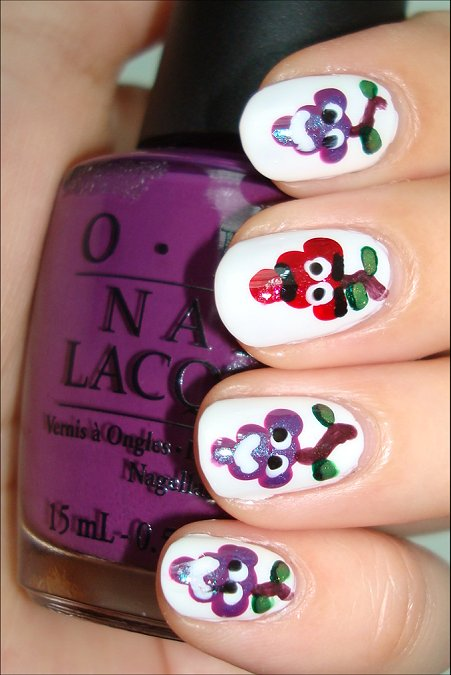 The Grapes of Wrath Manicure & Tutorial