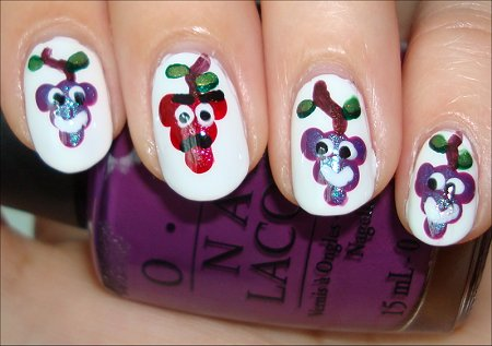 The Grapes of Wrath Nail Art Tutorial