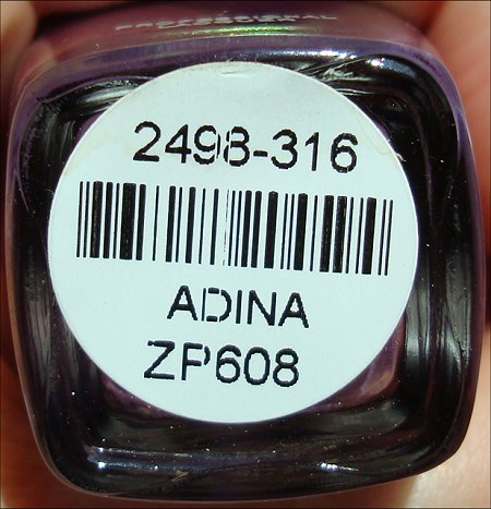 Zoya Adina Swatch, Pictures & Review