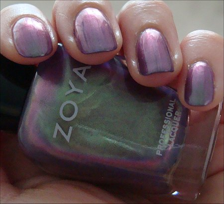 Zoya Duochrome Adina Swatches & Review