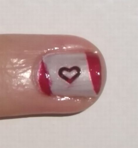 Image of Canadian Flag Nails