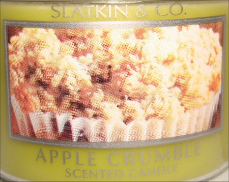 Bath & Body Works Apple Crumble Candle Review & Pictures