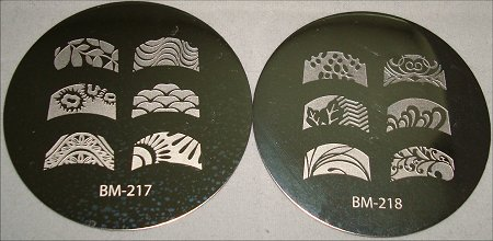 Bundle Monster BM 217 & BM 218 Image Plate