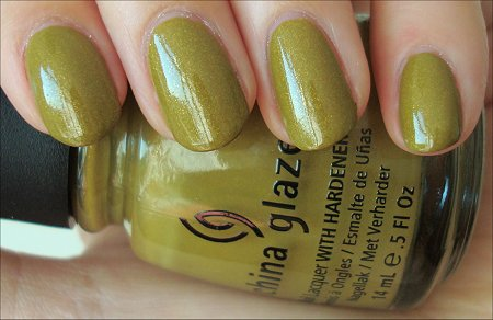 China Glaze Fall 2011 Collection Trendsetter Swatches & Review