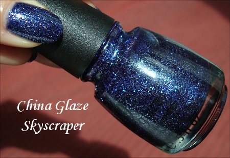 China Glaze Skyscraper Nail Polish Swatches