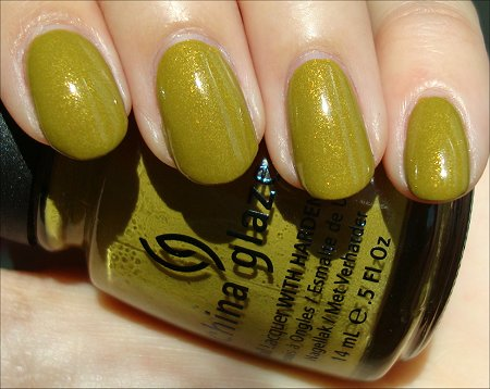 China Glaze Trendsetter Swatch & Review