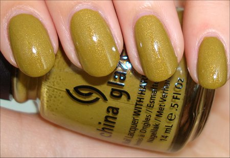 China Glaze Trendsetter from Metro Collection 2011