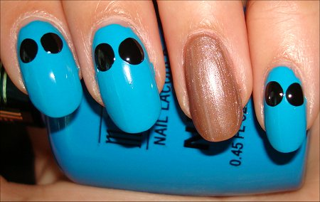 Cookie Monster Nail Tutorial Step 2