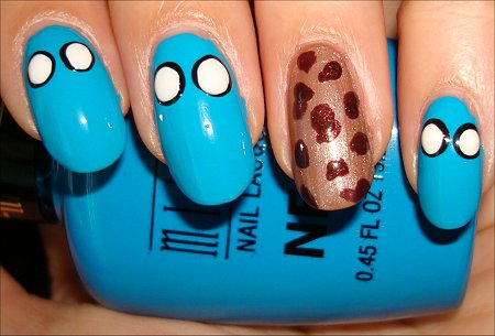 Cookie Monster Nail Tutorial Step 4