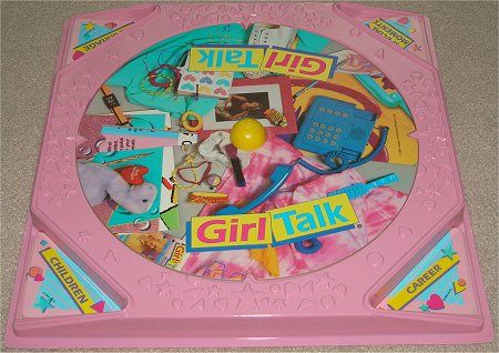 Girl Talk Board Game