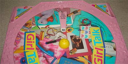 Girl Talk Game of Truth or Dare Board Game