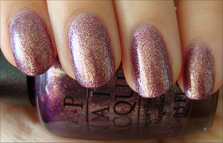 It's My Year Swatch & Review OPI Nail Polish