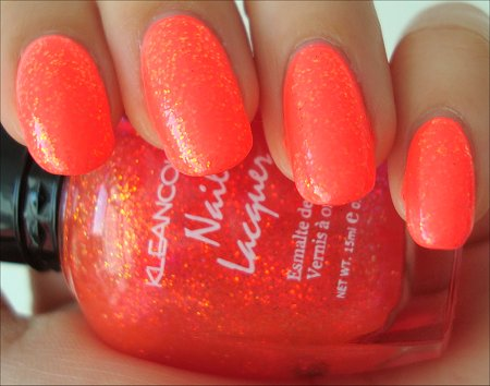 Klean Color Chunky Holo Candy Swatches & Review