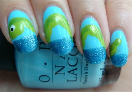 Nail Art Tutorial Sea Creature Nails
