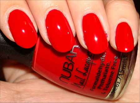 Nubar Sensual Red Swatches & Review