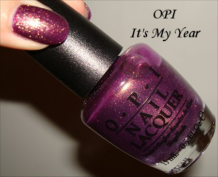 OPI It's My Year OPI Miss Universe Collection Swatches & Review