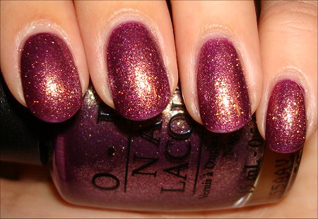 OPI It's My Year Swatch &amp; Review