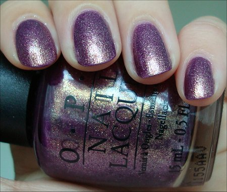 OPI Its My Year Swatch &amp; Review
