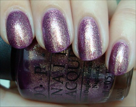 OPI Its My Year Swatches &amp; Review