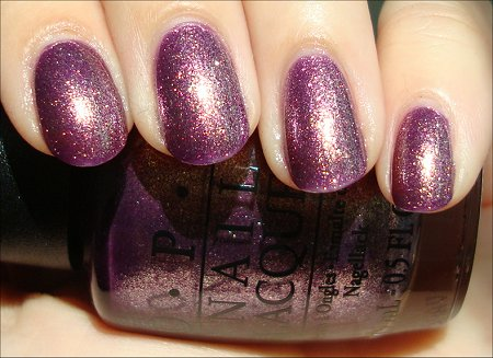 OPI Miss Universe Swatches &amp; Review It's My Year