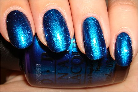 OPI Review & Swatches Miss Universe Collection OPI Swimsuit Nailed it Swatch
