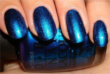 OPI Swatches Miss Universe Collection Swimsuit Nailed It Review