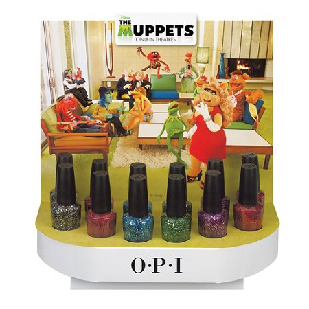 OPI The Muppets Holiday Collection Glitter Polishes