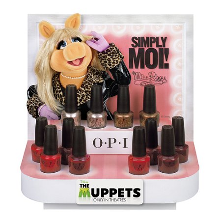OPI The Muppets Holiday Collection Reds & Neutral Polishes
