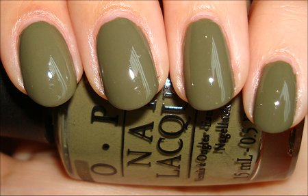 OPI Touring America Collection Swatches Uh-oh Roll Down the Window Review