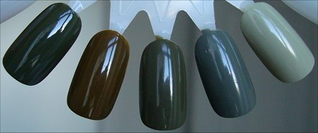 OPI Uh-oh Roll Down the Window Polish Comparison Swatches