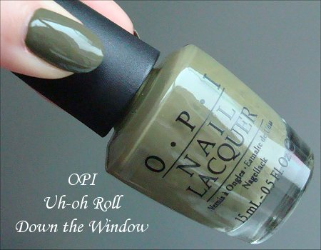 OPI Uh-oh Roll Down the Window Swatch, Review & Pictures