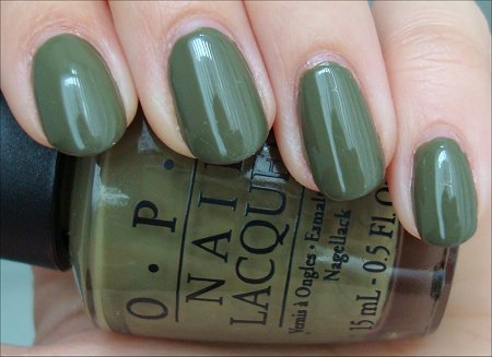 OPI Uh-oh Roll Down the Window Swatches & Review & Pictures