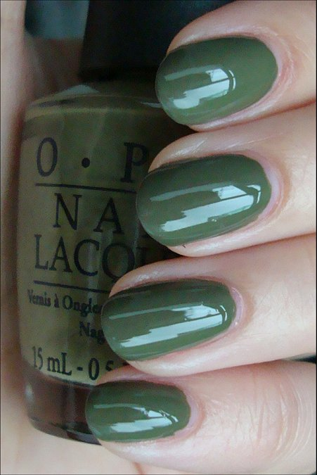 OPI Uh-oh Roll Down the Window Swatches & Review