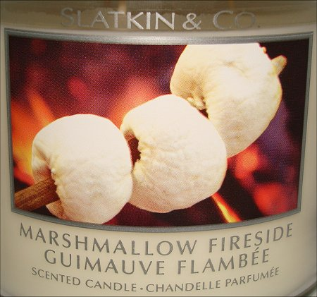 Slatkin & Co. Marshmallow Fireside Candle Review
