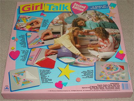 Stereotypical Board Game from the 90s Girl Talk