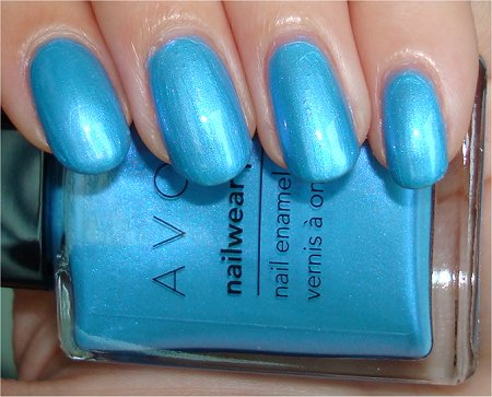 Avon Lagoon Swatch & Review
