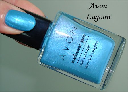 Avon Nailwear Pro Lagoon Swatches & Review