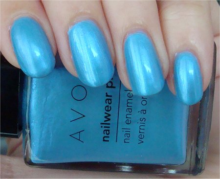 Avon Review & Swatches Lagoon Nail Polish