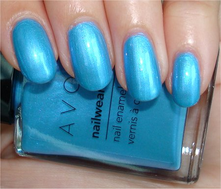 Avon Swatches & Review Avon Blue Nail Polish Swatches & Review