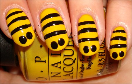 Bee Nails Tutorial Step 2