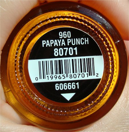China Glaze Papaya Punch Review & Pictures