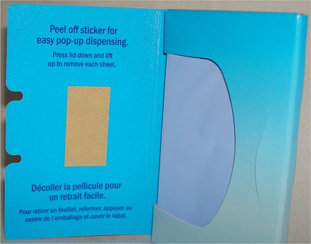 Clean & Clear Oil Absorbing Sheets Review & Pictures