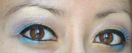Colorful Eye of the Day Look