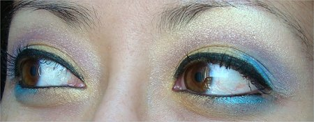 Colourful Eye of the Day Look
