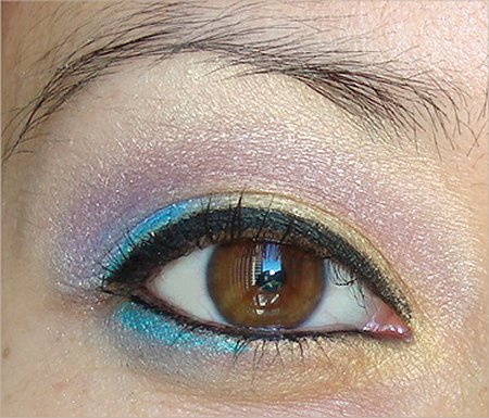 Flash Eye Look of the Day Rainbow Eyes