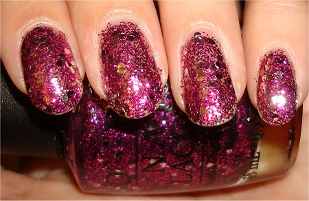Flash OPI Divine Swine Swatches & Review