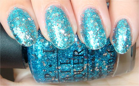 Flash OPI The Muppets Holiday Collection 2011 Swatches &amp; Review Gone Gonzo Swatch