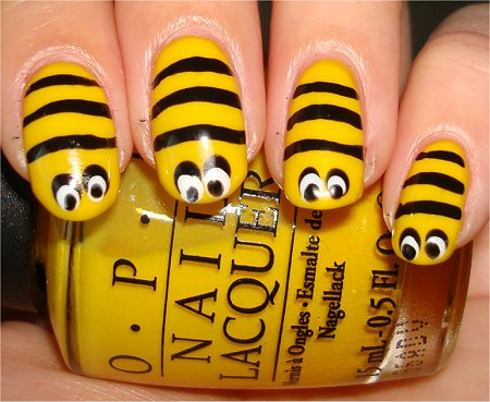 Honeybee Nails & Tutorial
