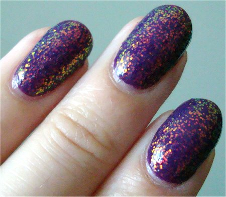 KleanColor 234 Chunky Holo Purple Review & Swatch
